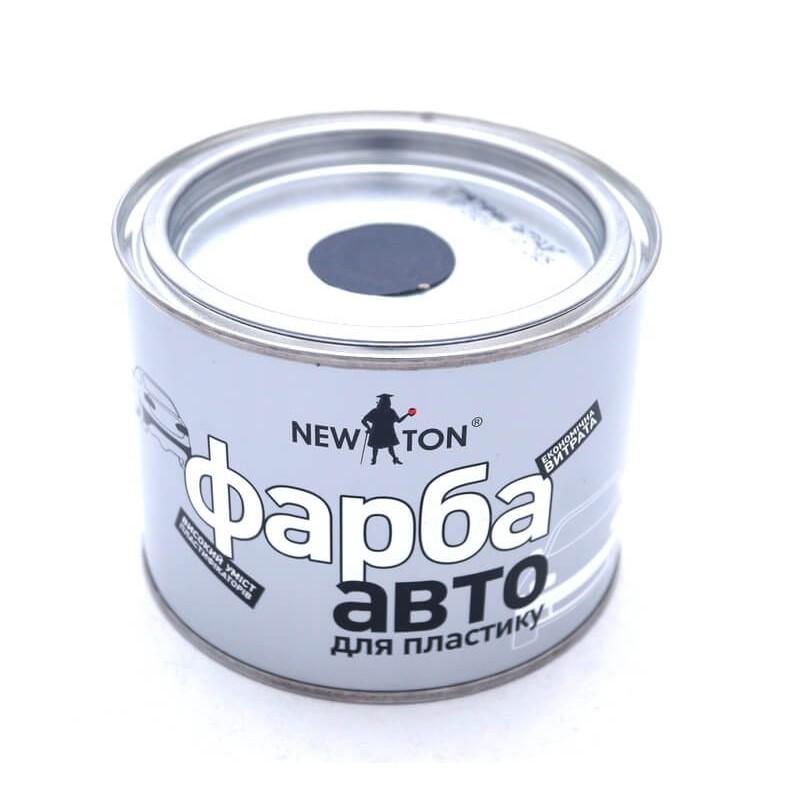 Краска структурная для бампера, антрацит, NewTon 450 мл