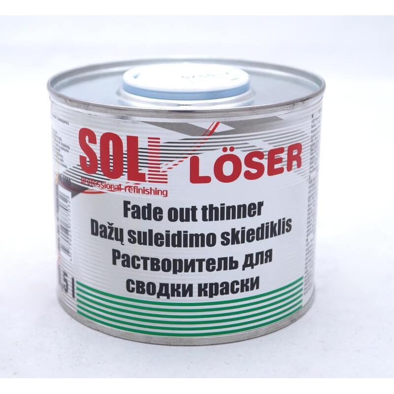 Растворитель для переходов (сводки краски) 0,5 л