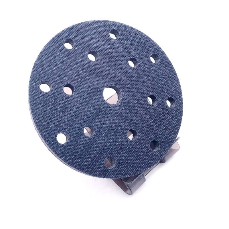 Мягкая подложка на диск для шлифбумаги Hookit D150мм 15 отв 10мм, SOLL (арт. SIP 150-10-15)