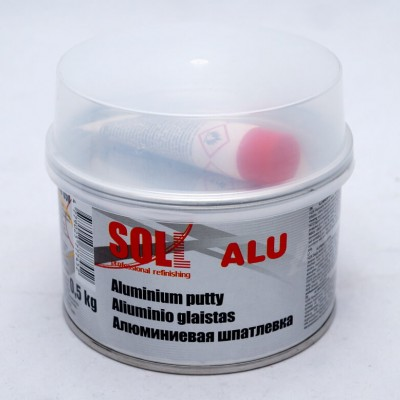 Шпатлевка SOLL SG9 Aluminium Putty 0,5 кг