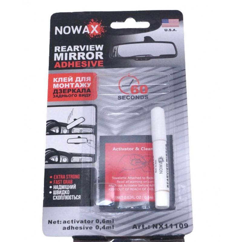 Клей NOWAX для монтажа зеркала заднего вида (NX11109) 0,4 мл + 0,6 мл