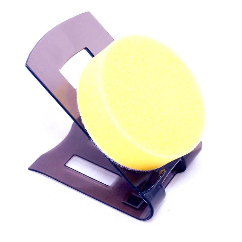 Полировочный круг на липучке 80*25мм желтый (мини) PYRAMID 44804