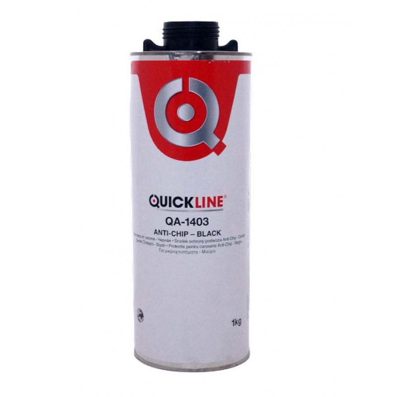 Антигравийное покрытие (Гравитекс) ANTI-CHIP, черное, QUICK LINE (QA-1403/S1К) 1 кг