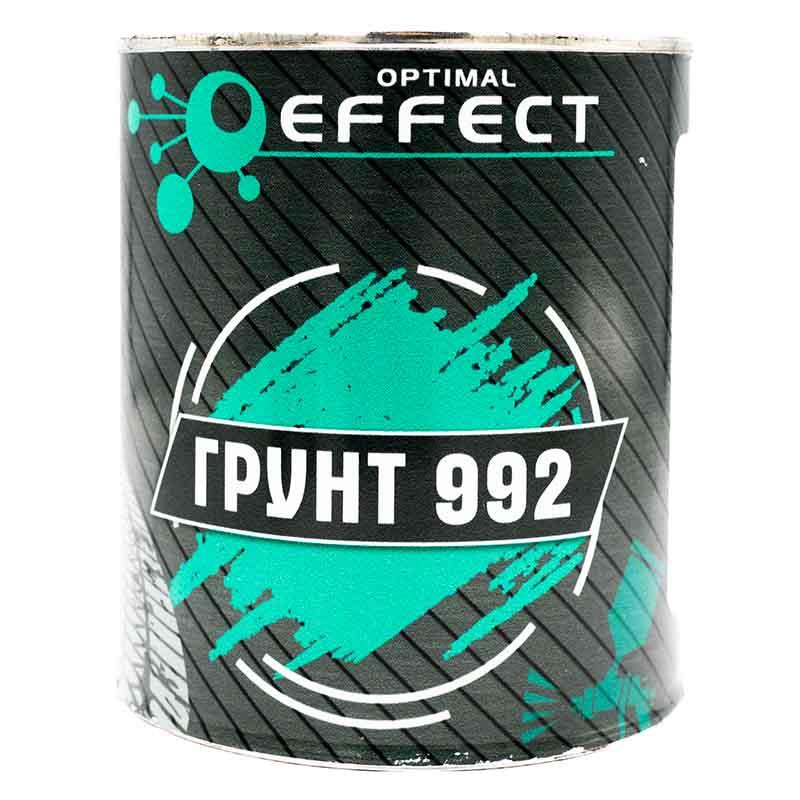 Грунт 1К (однокомпонентный) алкидный EFFECT 992, серый (0,9кг)