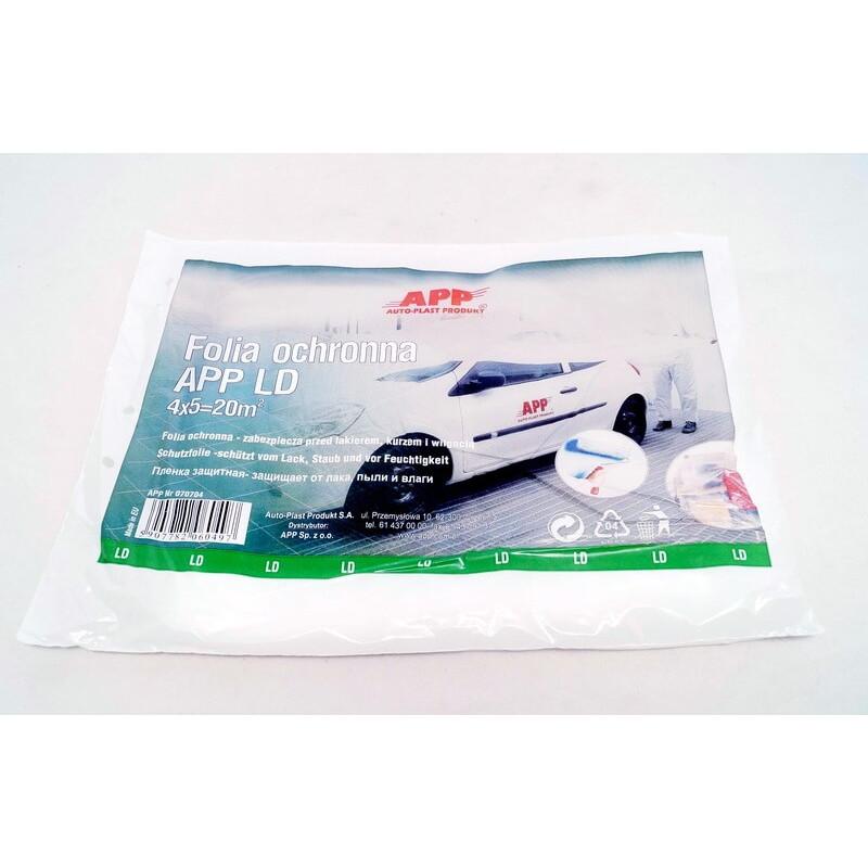 Пленка защитная APP LD 4 мкм в листах 4 м x 5 м (арт. 070704)