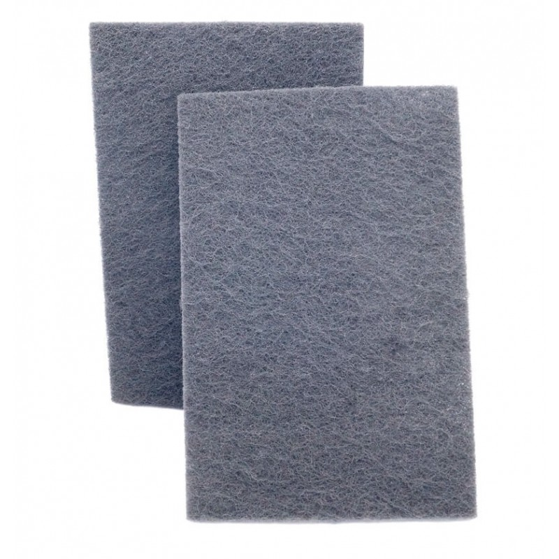 Скотч-брайт (абразивный лист) SMIRDEX серый Р600, 150х230 мм