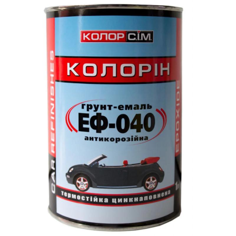 Антикоррозионная грунт-эмаль ЭФ-040 CS System