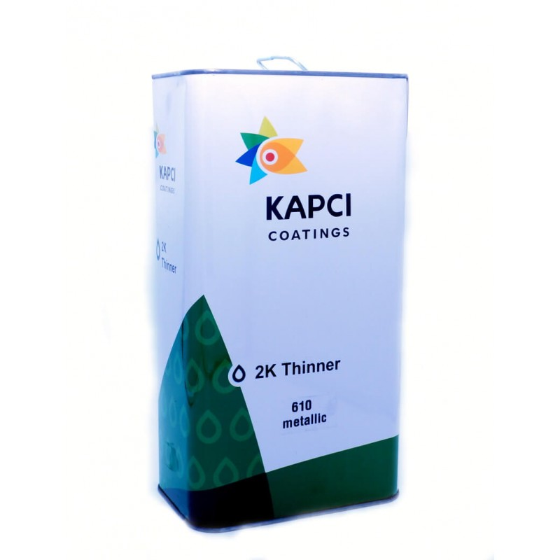 Растворитель для базовых красок KAPCI 610 2K Thinner, 5 л (арт. KPC 005)