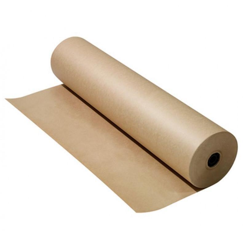 Бумага укрывочная HRV 100 м в рулоне, плотность 50г/м2