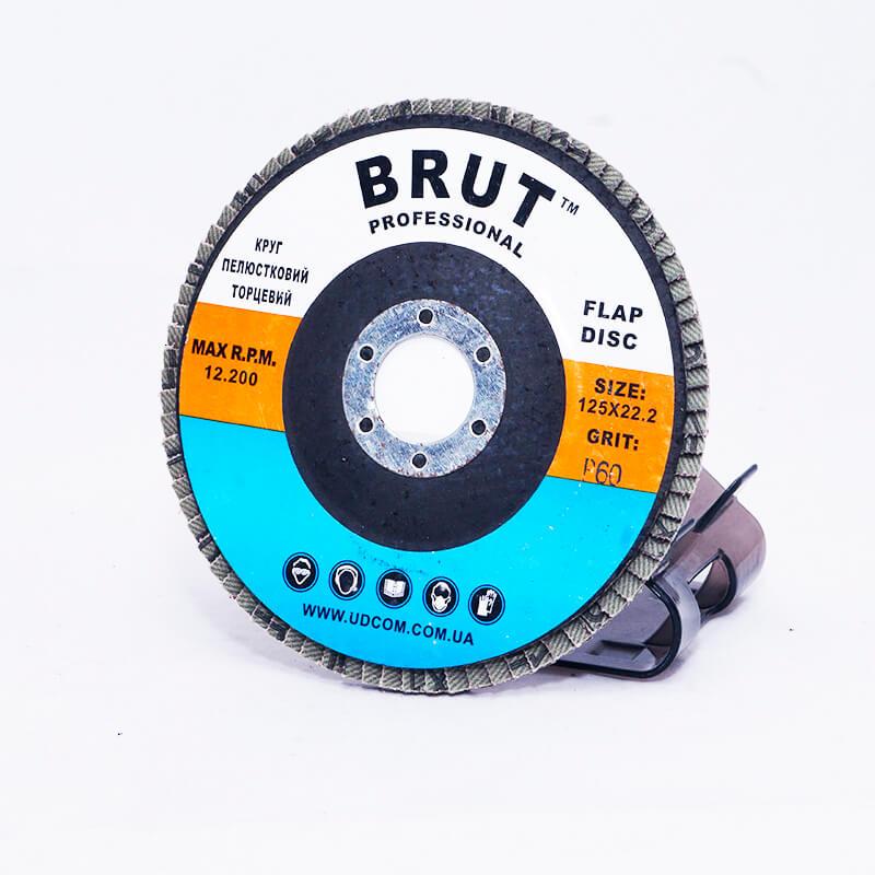 Диск лепестковый торцевой 125мм P60 Brut (103104)
