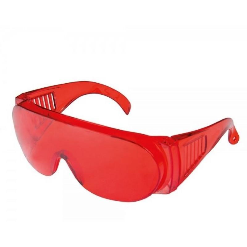 Очки защитные MasterTool 82-0052 озон красные