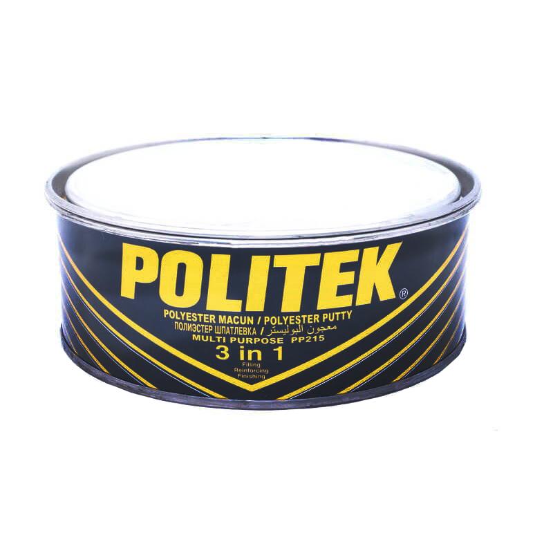 Шпатлевка комбинированная (финишная + микроволокно) POLITEK 3 in 1 (MINT-GREEN) 900 г