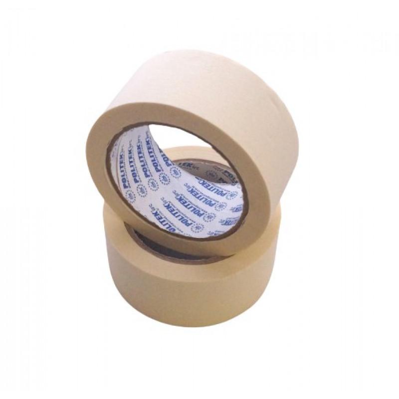 Маскировочная лента малярная POLITEK (80°C) 48мм белая (36 pcs/box)