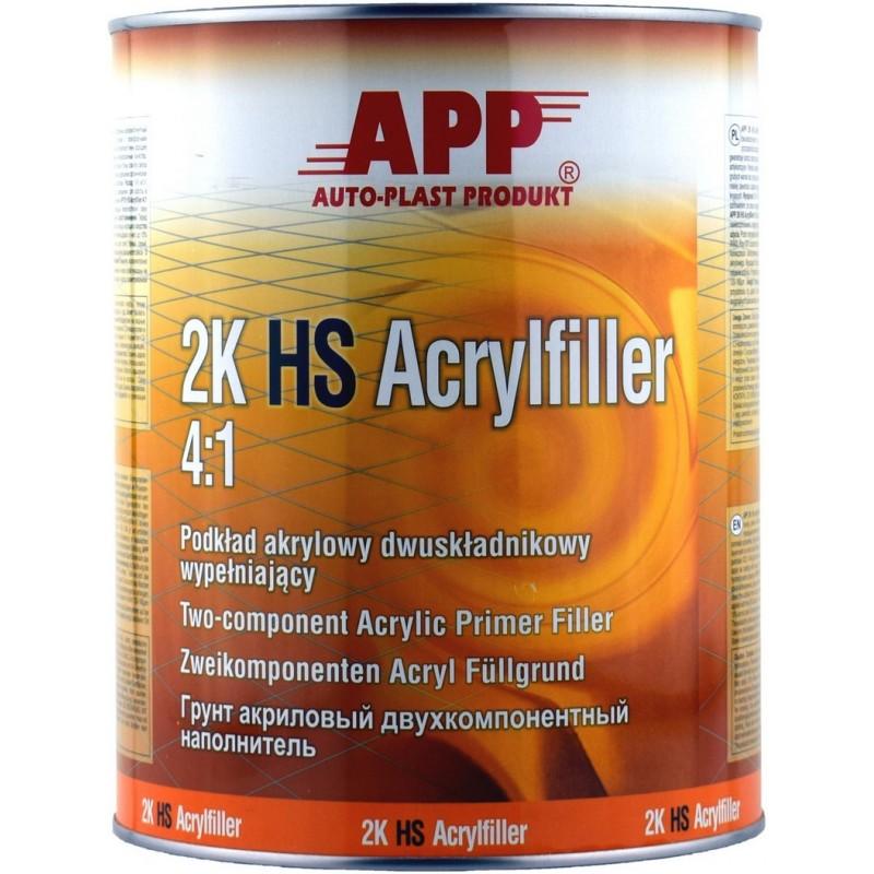 Акриловый грунт APP 2K HS Acryfiller 4:1 1л.