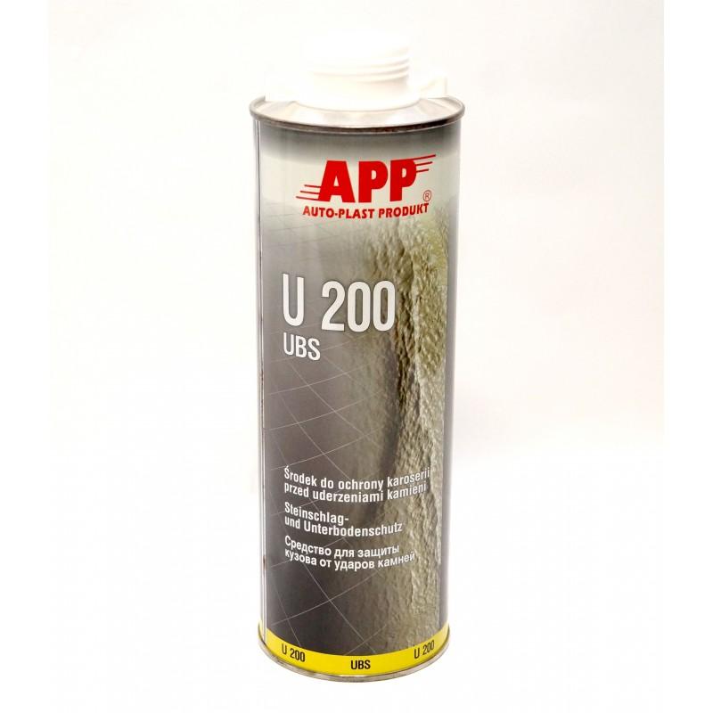 Средство для защиты кузова APP U200 Baranek белое 1л