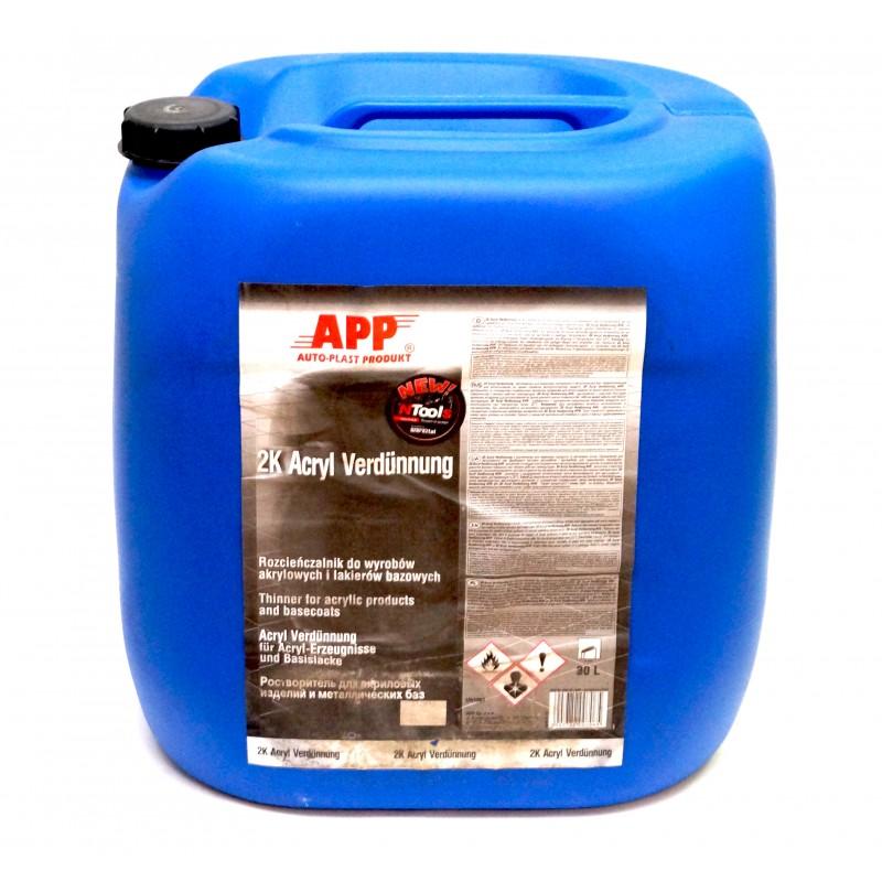 Растворитель к акриловым и базовым продуктам APP 30 л в канистре