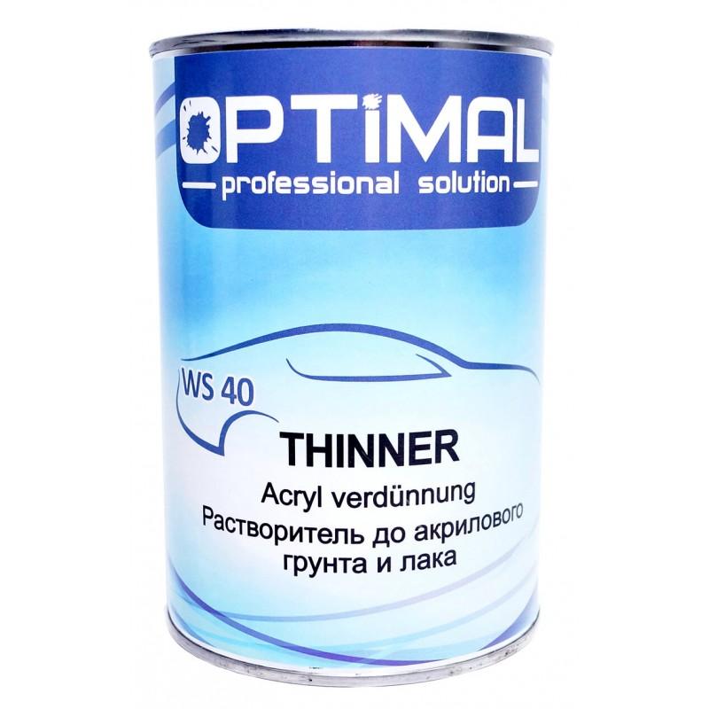 Растворитель до акриловых продуктов Optimal WS 40, 1 л
