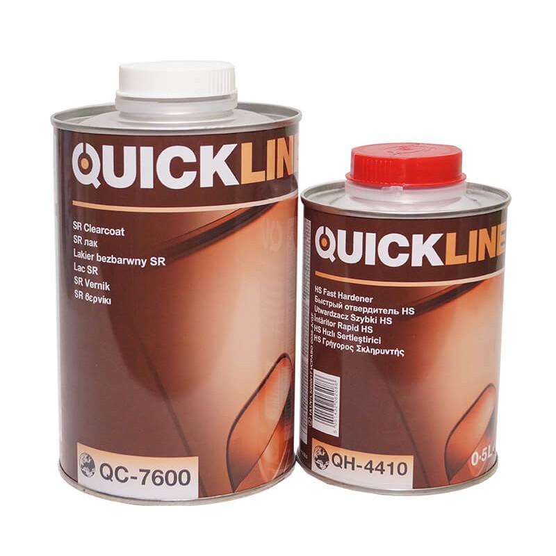 Акрил-уретановый лак QUICKLINE QC-7600 c отв. QH-4410