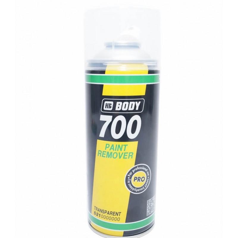 Смывка старой краски BODY 700 в аэрозоле, 400 мл