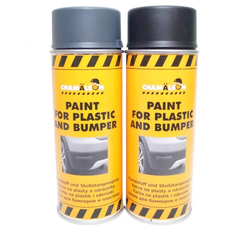 Автомобильная краска для бамперов и пластика CHAMALEON, 400 мл