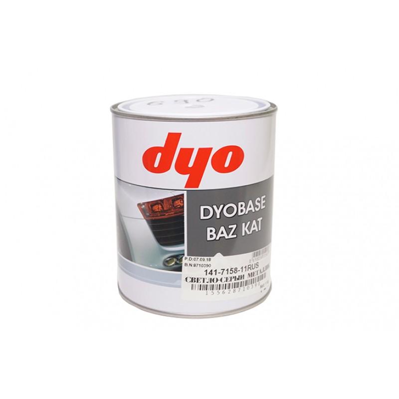 Базовая краска с эффектом металлик DYO