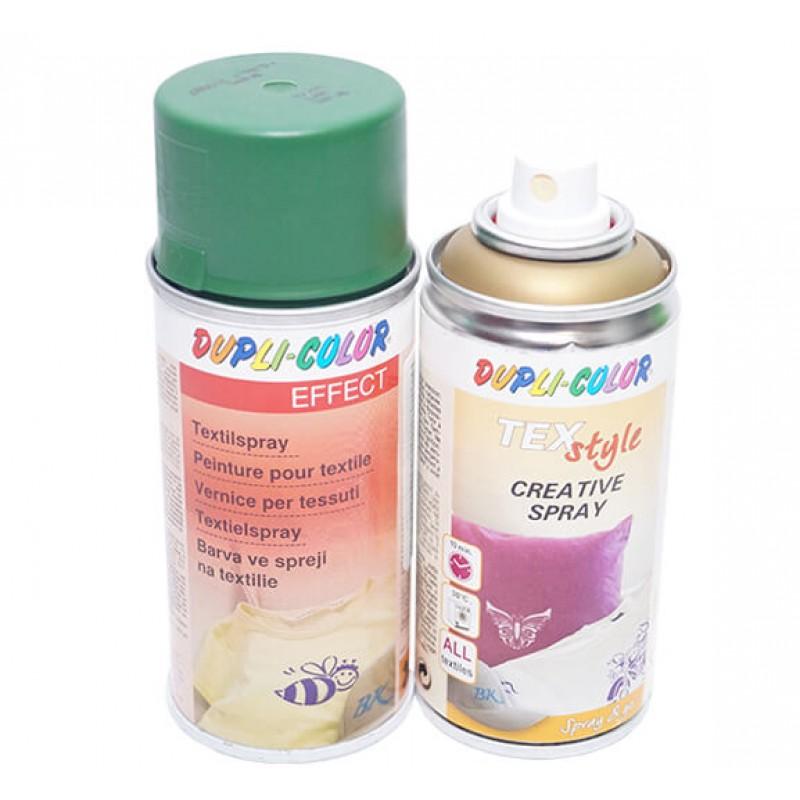 Краска аэрозоль по ткани 150 мл DUPLI-COLOR