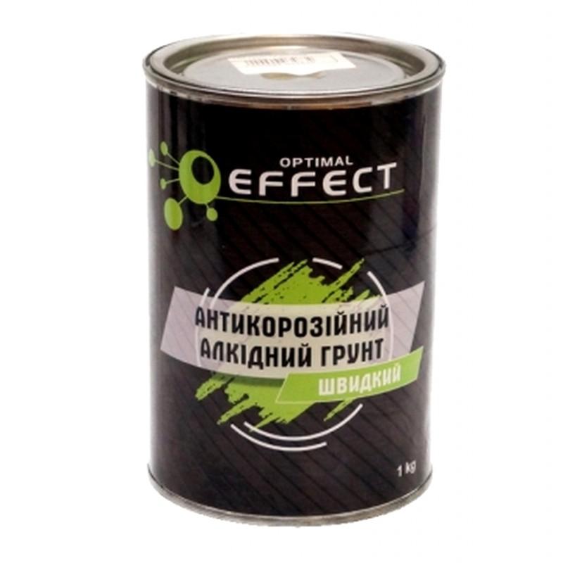 Алкидный антикоррозийный грунт EFFECT серый 1 л