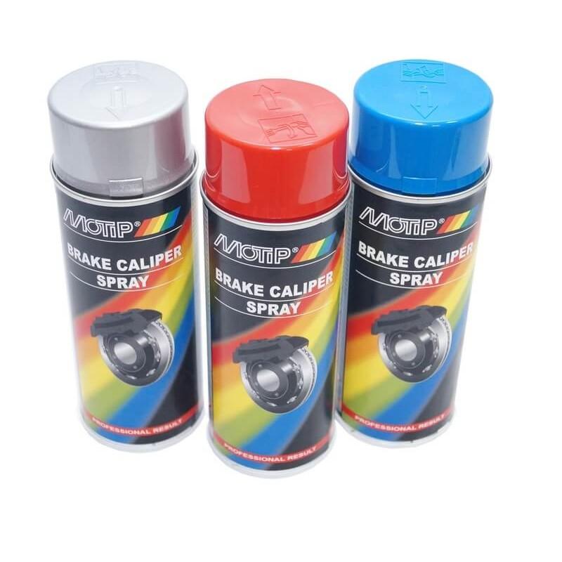 Краска для тормозных суппортов MOTIP, 400 мл