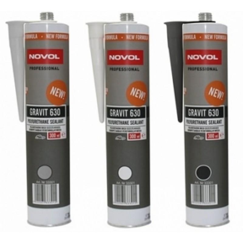 Полиуретановый герметик NOVOL GRAVIT 630, серый