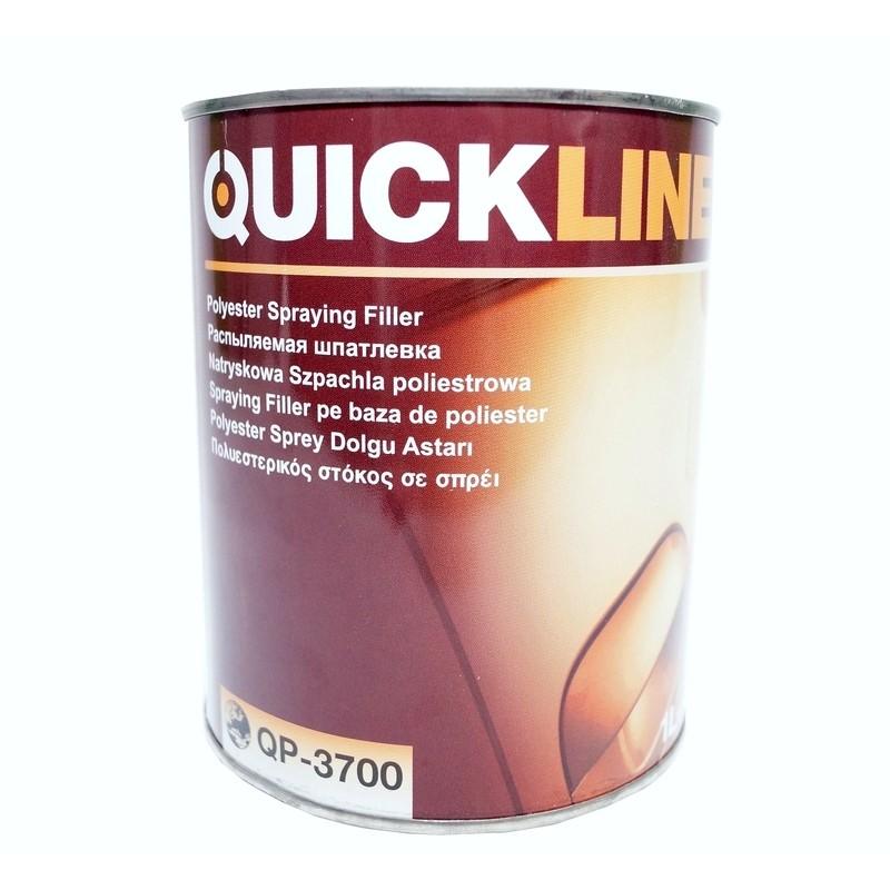 Жидкая распыляемая шпатлевка QUICKLINE QP-3700