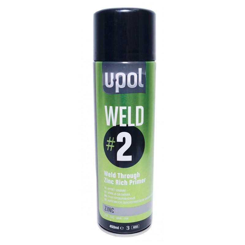 Грунт провариваемый с цинком U-POL WELD#2